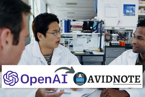 Avidnote – now part of OpenAI private beta